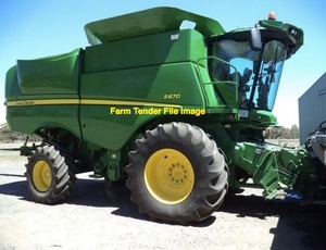 John Deere S670, S680 or S690 Header with a 640D Front wanted