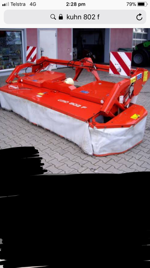 WANTED Kuhn 802F Front Mower