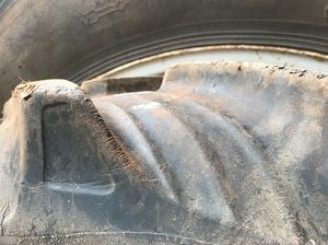 Set of Tractor Rims & Tyres Used