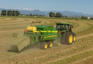 Currently Purchasing Rye Clover Hay in 8x4x3 or 8x4x4 Bales