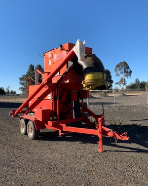Under Auction - (A147) - Nufab Grain Cleaner / Seed Grader - 2% + GST Buyers Premium On All Lots