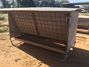 Under Auction - (A132) - Small Cattle Feeder - 2% + GST Buyers Premium On All Lots