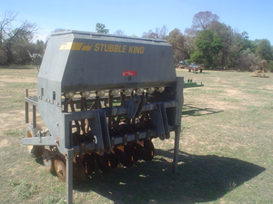 Stubble King Vineyard Seeder