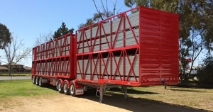 WANTED B Double Cattle Crate