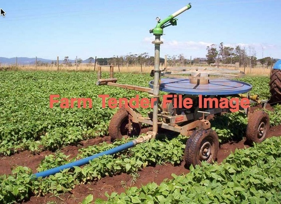 4 Meter Travelling Irrigator Wanted