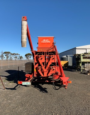 Under Auction - (A140) - Nufab Grain Cleaner / Seed Grader - 2% + GST Buyers Premium On All Lots