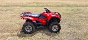 Under Auction - 2009 Honda Fourtax ATV 420 - 2% + GST Buyers Premium On All Lots
