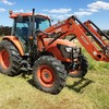 2013 Kubota M8450 Tractor with M220P Front End Loader