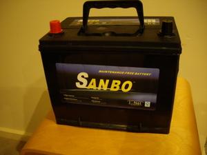 Sanbo 630 Cca Battery