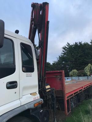 Under Auction - Isuzu FVR 950 Turbo Tray Top Truck . - 2% + GST Buyers Premium On All Lots