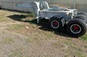 Under Auction - 2015 DBTW Heavy Haulage Dolly - 2% + GST Buyers Premium On All Lots