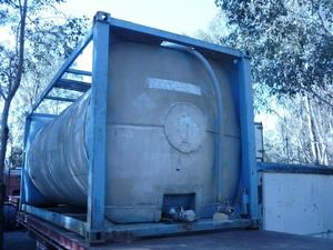 Container Tank, Stainless steel ,