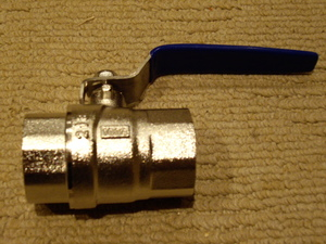 1 Inch (25mm) Ball Valves (packs of 5)