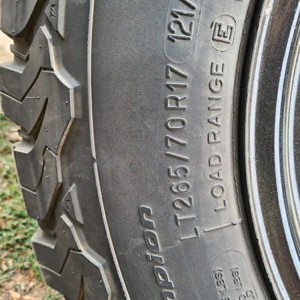 Toyota Hilux Wheels x 4