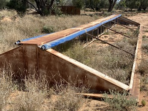 Roll over Tarps from Dunstan 110 t Bin