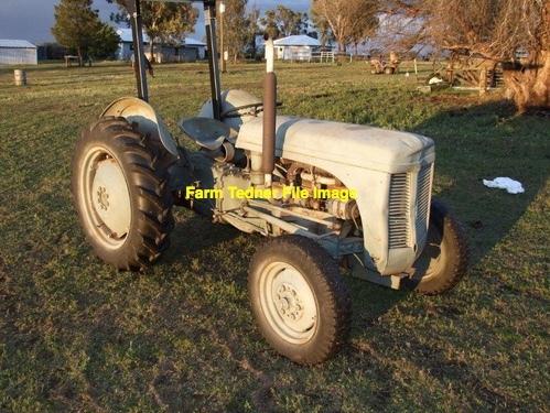 Grey Fergie Diesel Tractor Wanted