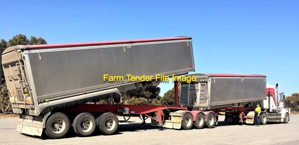 Wanted 19m Set of B-Double Tippers