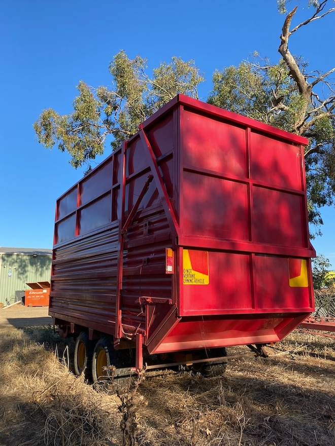 Silage Trailer 36 cubic meters