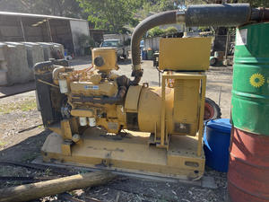 Under Auction - (A135) - 1982 Cat 3208 Diesel Generator - 2% + GST Buyers Premium On All Lots
