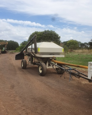 Bourgault 2115 Air Cart with Loading Auger