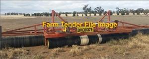 Bison Roller Hydraulic Fold