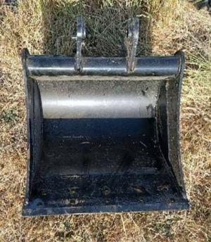 Excavator Scraping Mud Bucket 450mm suits Excavators 1.7-3.5ton