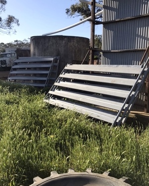 Cattle yards and loading Ramp