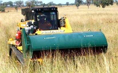 2 metre Brush Harvester for a Front Loader