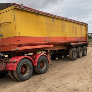 Lusty Semi Tipper 32' x 6'