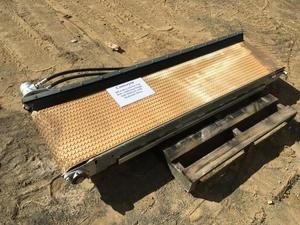 Under Auction - (A136) - Conveyor Crescent Top -  500mm Wide  x 2100mm Long - 2% + GST Buyers Premium On All Lots