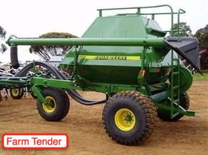 John Deere 777 Seeder Cart For Sale