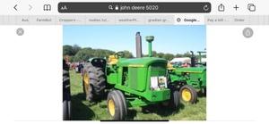 WANTED John Deere 5020-6030-3020