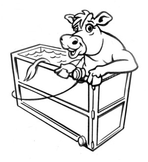Downer Cow Recovery Float Tank