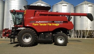 WANTED Case 8120 Header