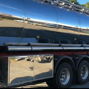 2019 -30000 Stainless Steel Wine or Milk Tanker For Hire or Sale