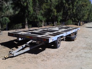 Heavy duty 11m Galvanised Trailer