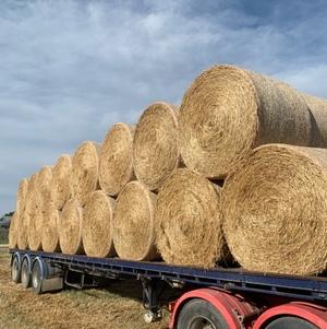 Oaten Hay 420kg 5x4 Rolls