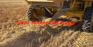 120mt Demeter Certified Biodynamic / Organic Lentil Header Straw 558kg 8x4x3 Bales