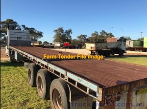 40 ft Tri or Boggie Trailer