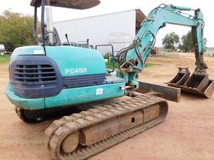 Komatsu PC45 Excavator