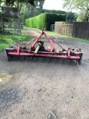 Under Auction - Lely Power Harrows - 2% + GST Buyers Premium On All Lots