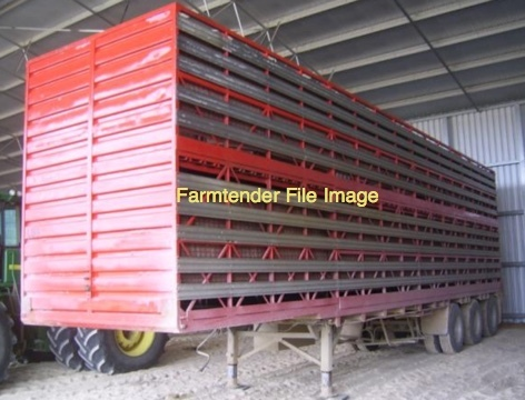 WANTED 24ft Stock Crate