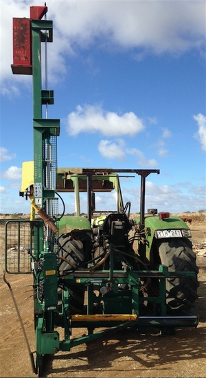 3PL Munro Post Driver Tele Sett for Sale  with Power Pack
