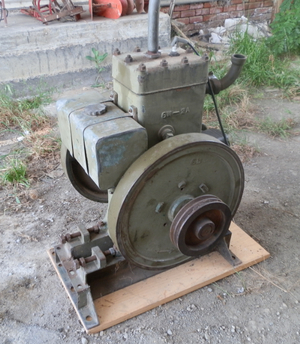 Restored Roseberry Single Stroke 6hp Engine