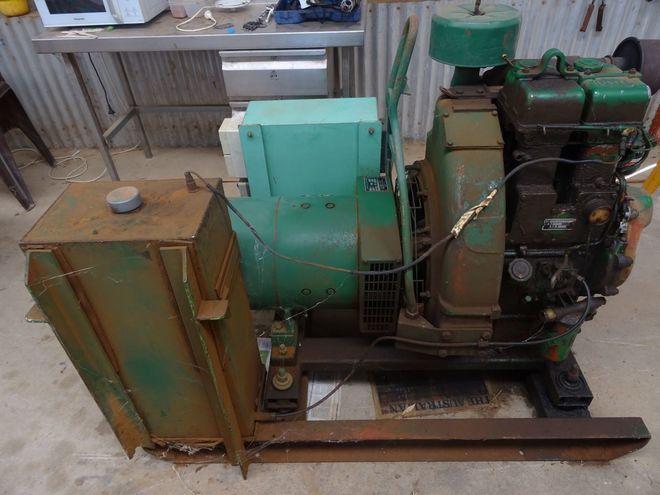 Lister Diesel Generator 15kv