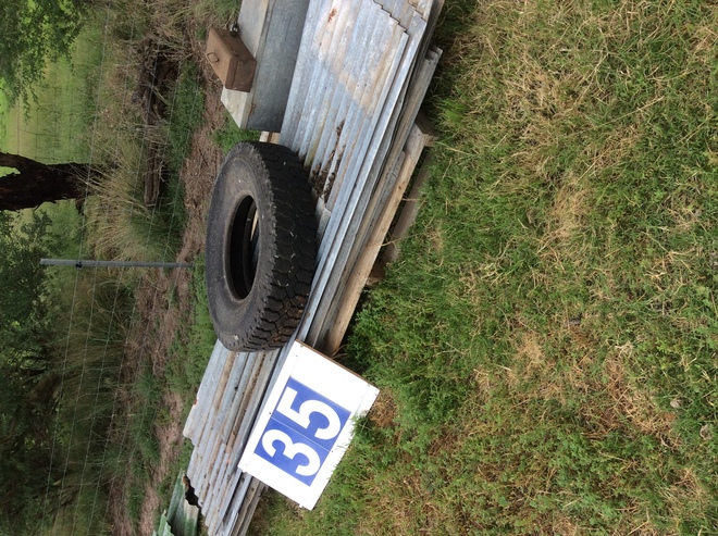 (A129) - 16 Used Iron Sheets x 10 Ft