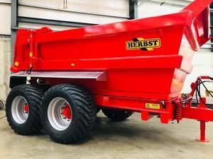 New 15t HERBST dump trailers