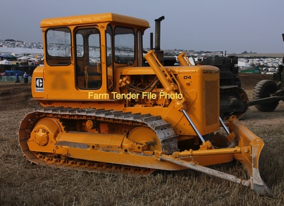 Wanted a D3-D5 Dozer with a 6 Way Blade