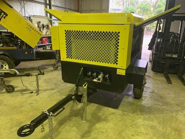 New High Pressure 360 cfm (12 bar 175 psi) Portable Diesel Air Compressor