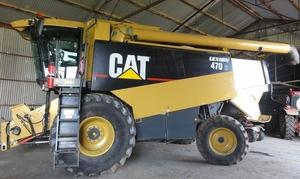 Cat Lexion 470 R Header